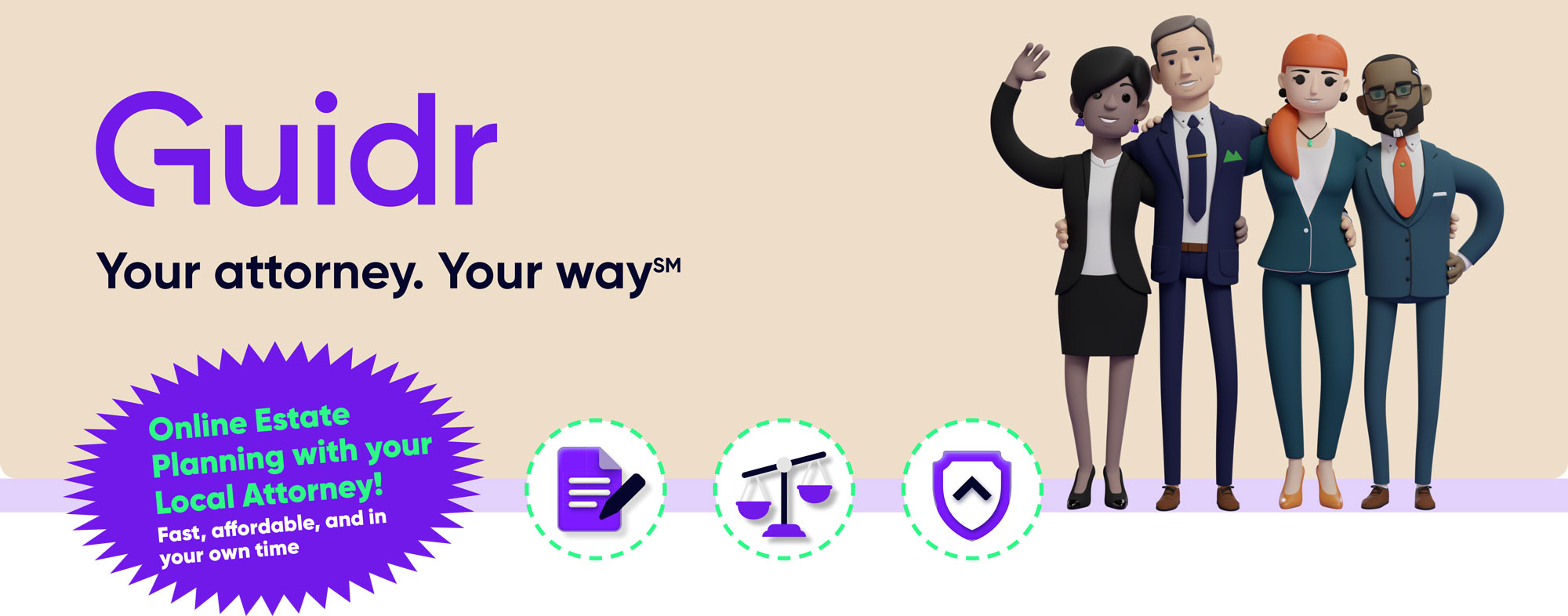 Guidr: Online legal documents with your local attorney